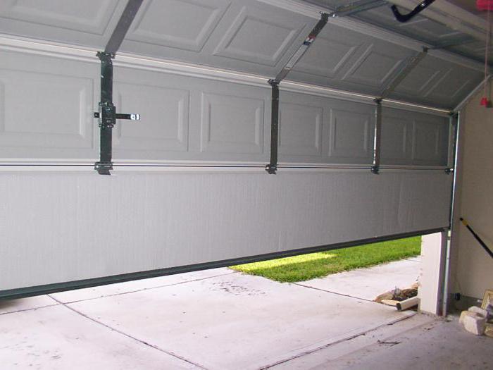 утепление секционных гаражных ворот