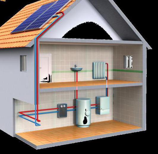 что залить в систему отопления частного дома воду или антифриз