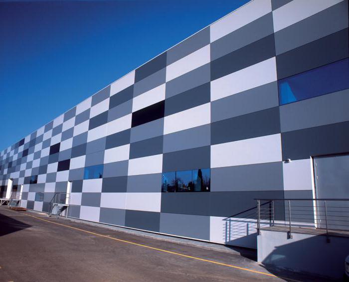 металлокассеты фасадные производство
