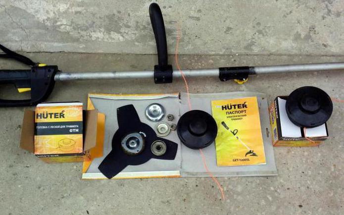 ремонт триммера хутер