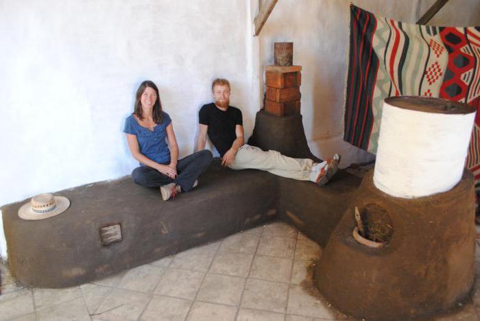 Кирпичная печь с лежанкой