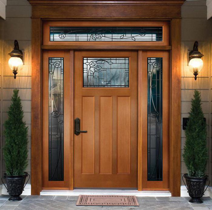 Монтаж доборов на входную дверь