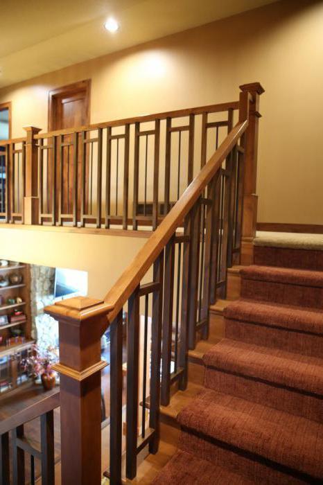 Резные лестницы из дерева - резные столбы, перила, элементы