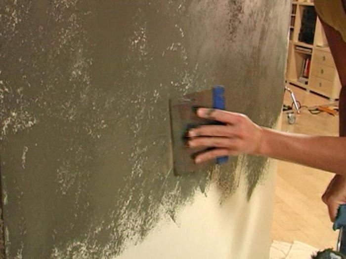 Декоративная штукатурка своими руками подготовка стен 4