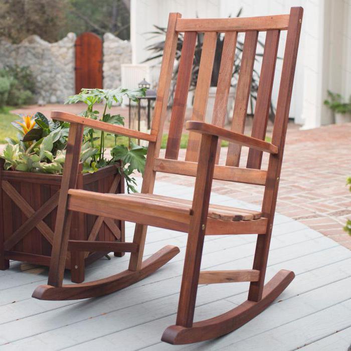 как сделать кресло качалку