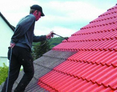 Краска для шифера крыши