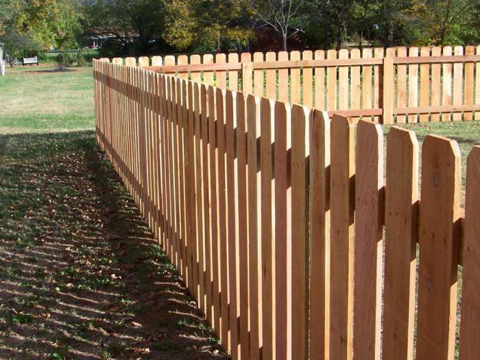 Забор из штакетника своими руками