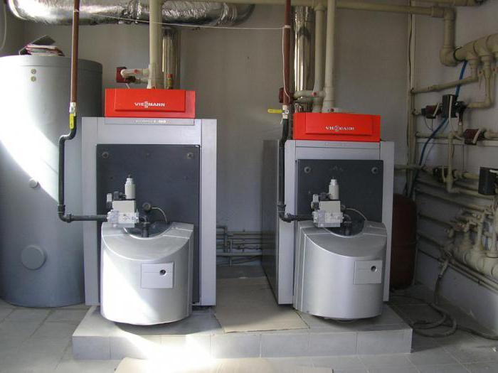 газовый чугунный котел отопления