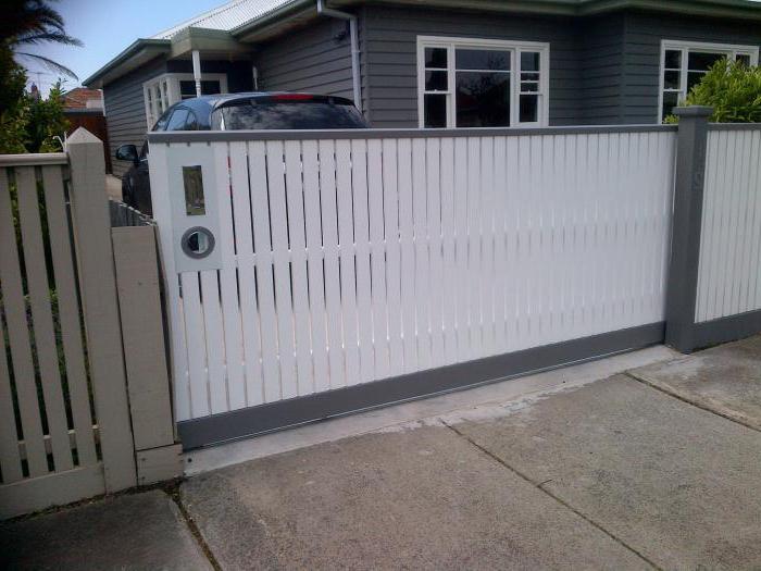 самодельный механизм для откатных ворот