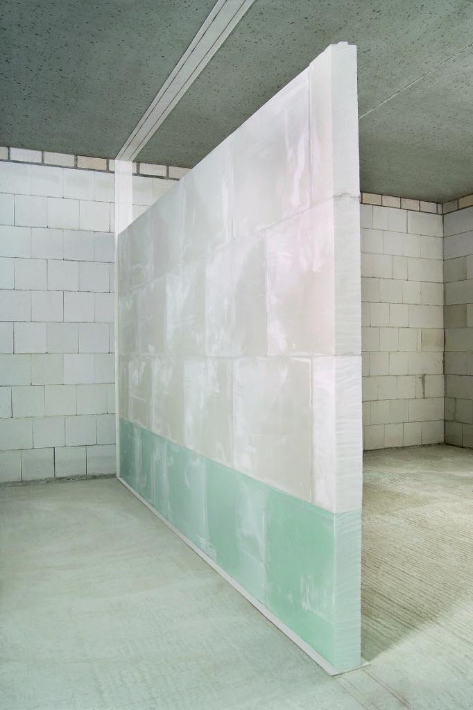 do-it-yourself interior walls made of drywall