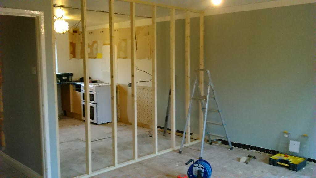 do-it-yourself wood interior partitions