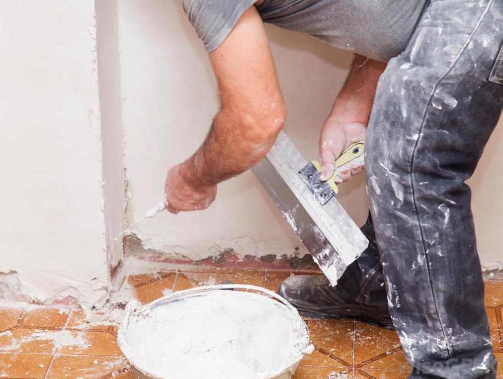mechanical wall plastering