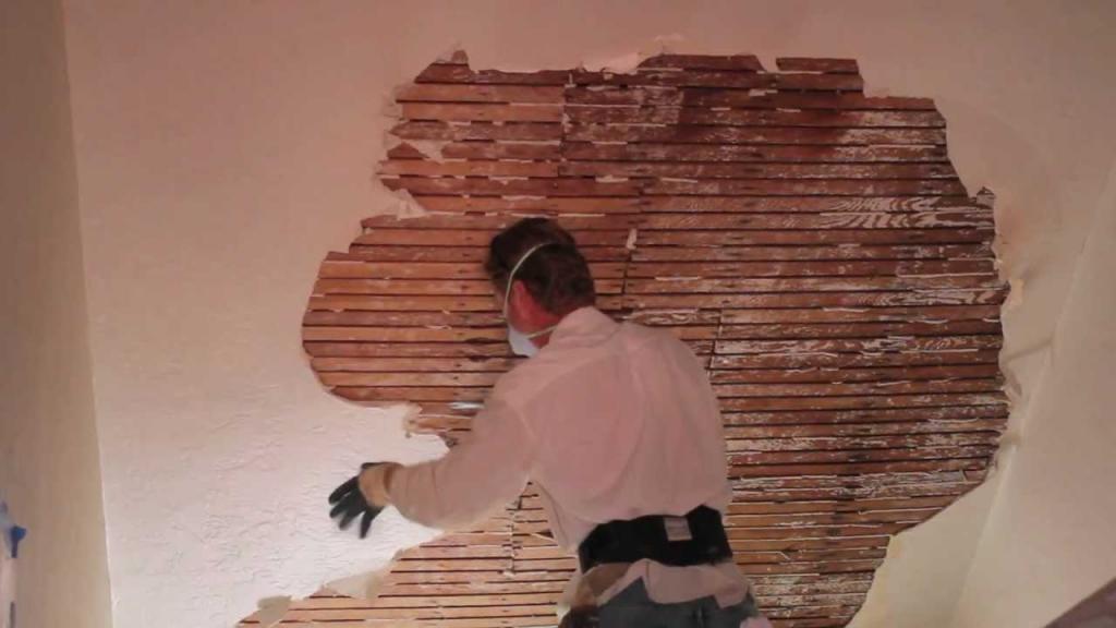 stucco walls with old stucco