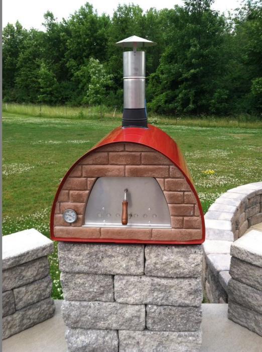 простая уличная печь