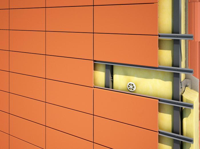 вентилируемые фасады виды