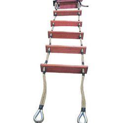 Как сделать веревочную лестницу своими руками