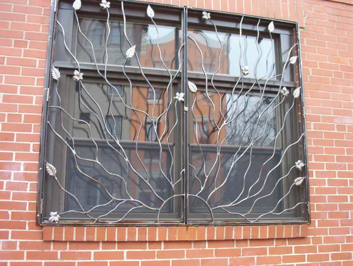 Сделать решетки на окна