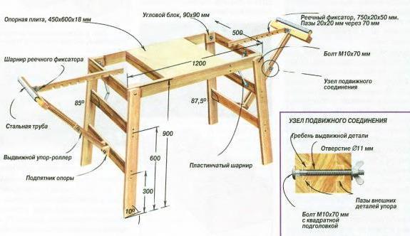 стол для циркулярной пилы своими руками дп 2000