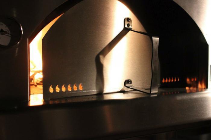 установка печи в баню с выносной топкой термофор