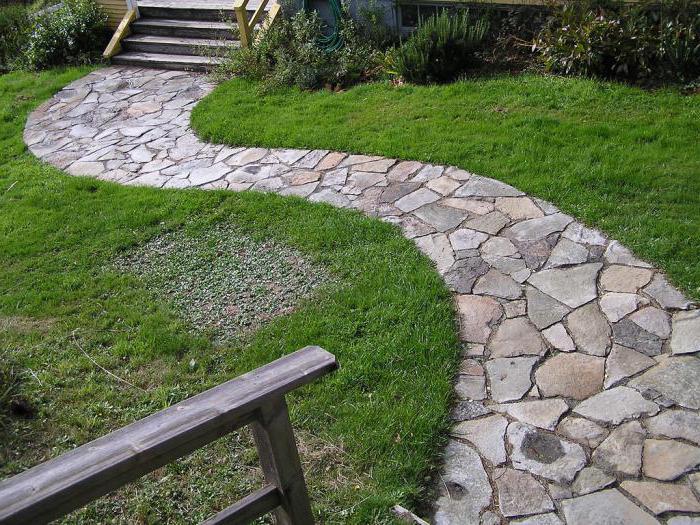 садовые дорожки своими руками с малыми затратами размеры