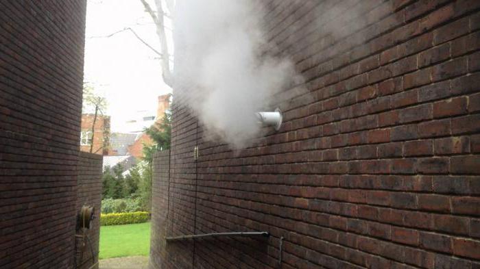 Устройство дымохода газового котла в частном доме