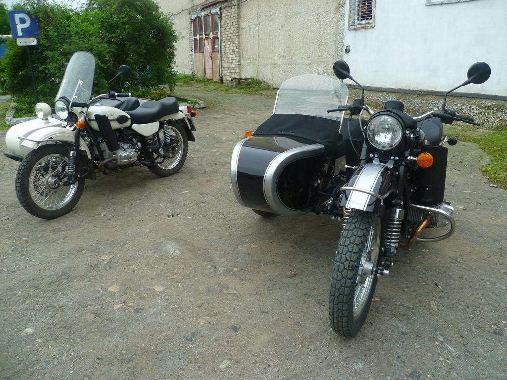 Тяжелые мотоциклы СССР