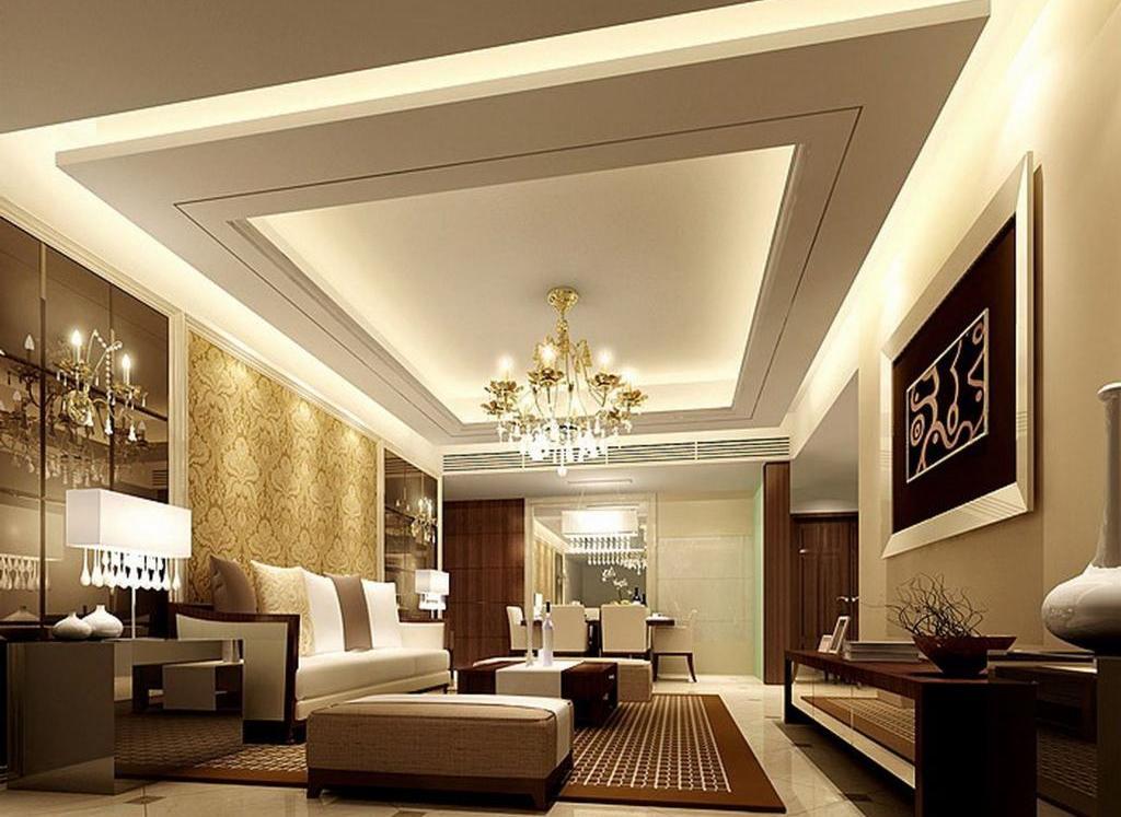 Multilevel ceiling