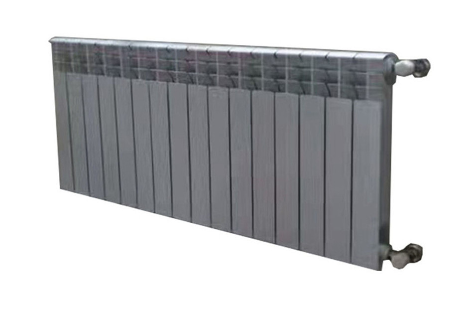 Long bimetal radiator