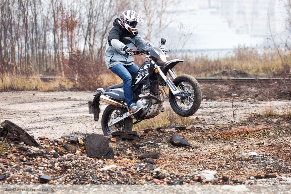 Мотоцикл Baltmotors Motard 250: технические характеристики