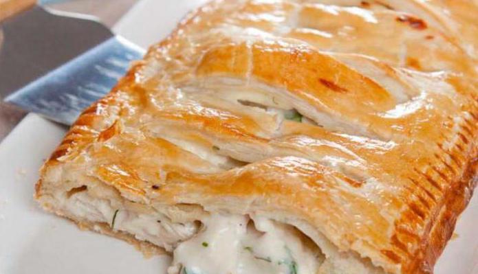 заливной пирог с рыбным фаршем