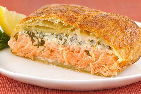 пирог с рыбным фаршем