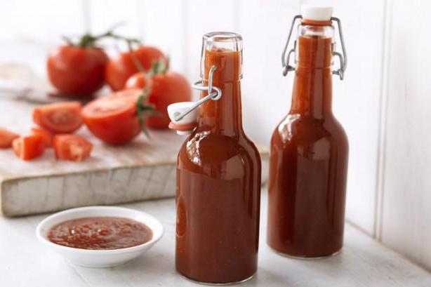 соус из томатов на зиму рецепт
