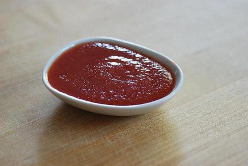 домашний соус из томатов
