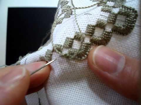 мастер классы вышивки хардангер
