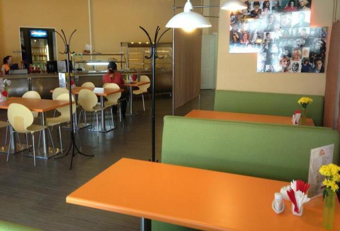 Кафе екатеринбурга по типу заведения