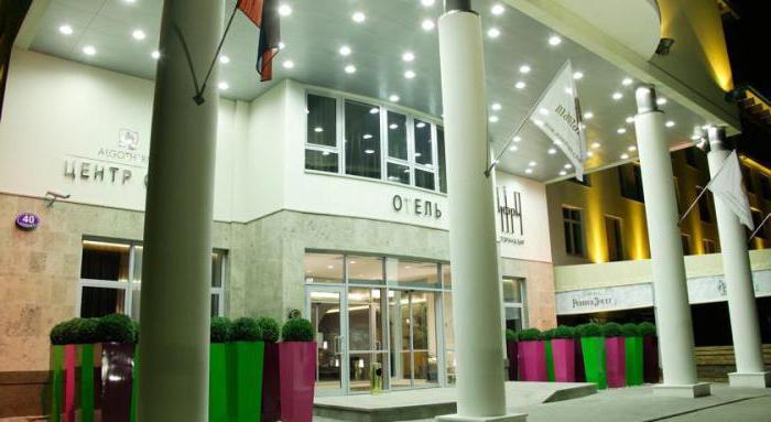 Отель на