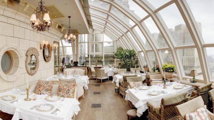 Видовой ресторан, Москва