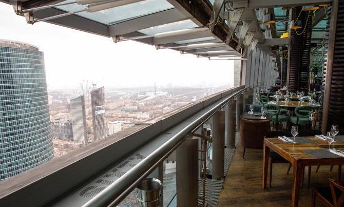 Панорамный ресторан Sixty