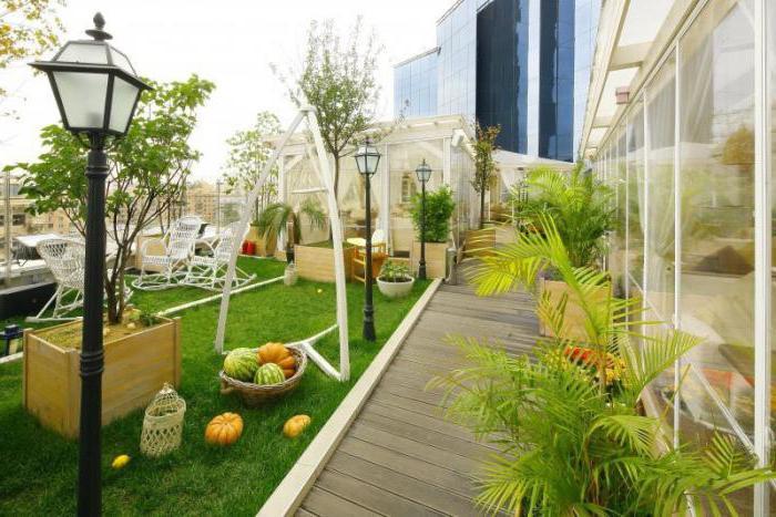 ресторан лотте плаза балкон