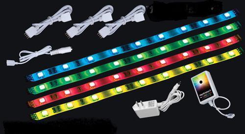 схемы подключения led светодиодных лент