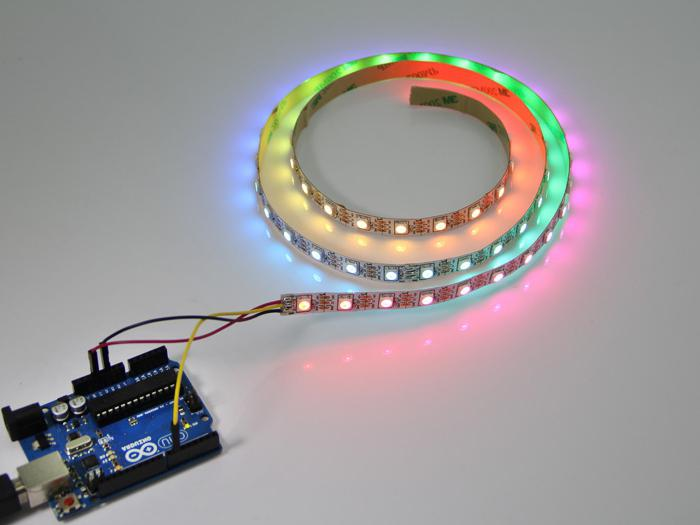 подключение блока питания светодиодной ленты