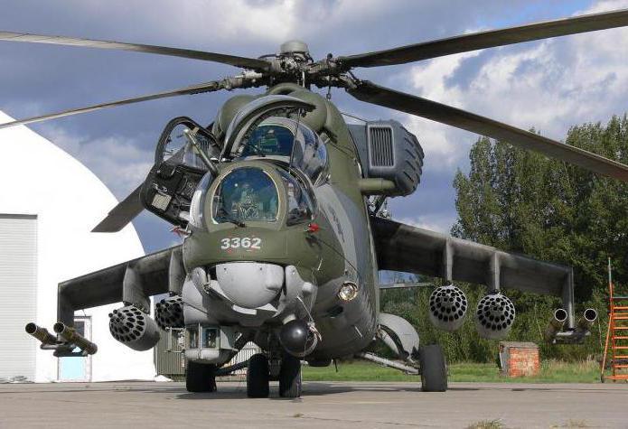 Боевой вертолет Ми-35М: история, описание и свойства