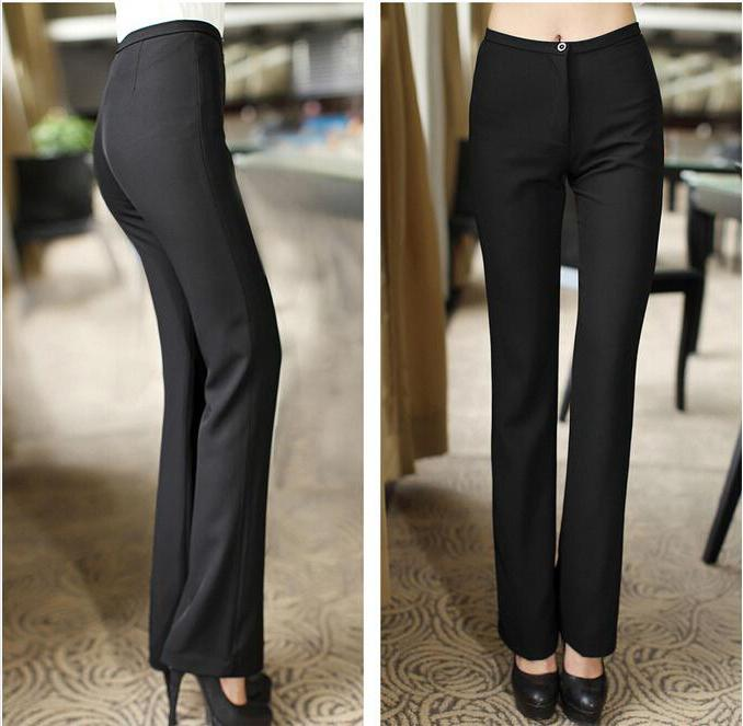 лассические брюки прямые женские