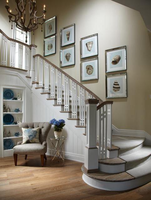 Лестница в интерьере частного дома: дизайн, стиль и отзывы
