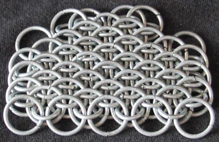 виды кольчужного плетения