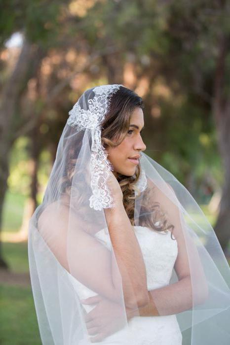 выкройка платка для венчания