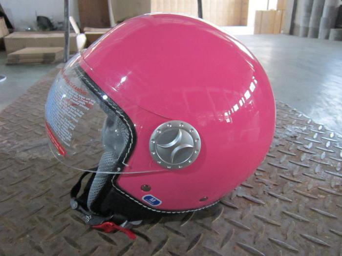 шлем для мопеда женский