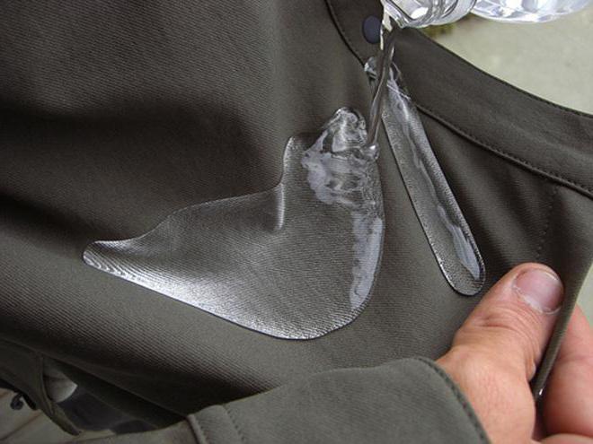 костюм из мембранной ткани