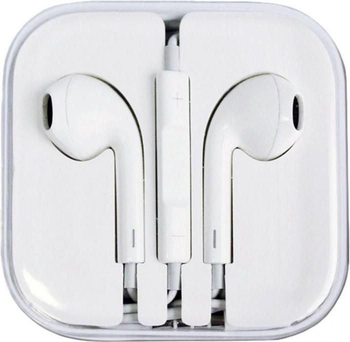 Наушники EarPods: фото, отзывы, характеристики