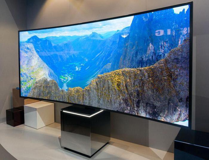 телевизоры с вогнутым экраном преимущества
